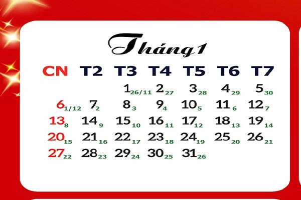 Đổi lịch âm dương và đổi lịch dương sang âm 2020-2
