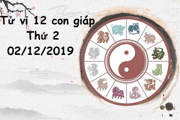 Xem tử vi thứ 2 ngày 02/12/2019 của 12 con giáp-1