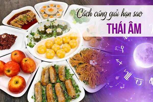 Cách cúng sao Thái Âm: Văn khấn, Lễ vật, Thời gian
