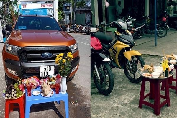 Cách cúng xe máy, xe ô tô mới mua về: Lễ vật, Văn khấn
