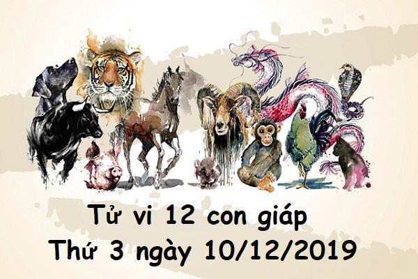 Xem tử vi thứ 3 ngày 10/12/2019 của 12 con giáp-1
