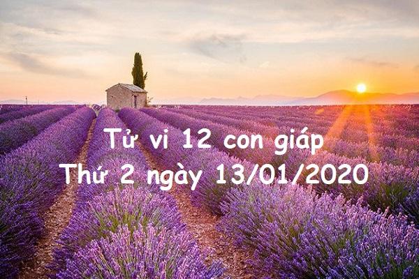 Xem tử vi Thứ 2 ngày 13/01/2020 của 12 con giáp-1