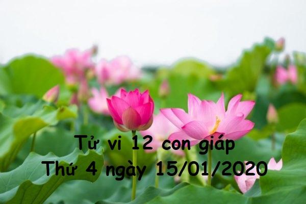 Xem tử vi Thứ 4 ngày 15/01/2020 của 12 con giáp-1