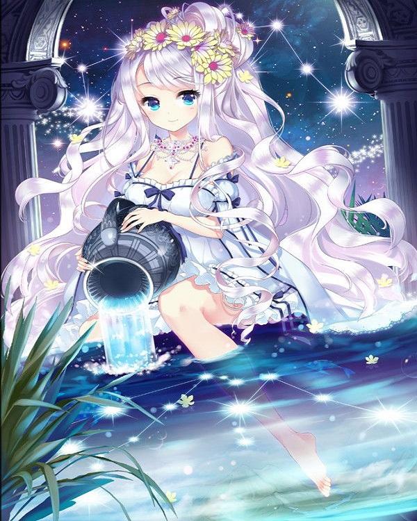 Anime 12 cung hoàng đạo đẹp, dễ thương-32