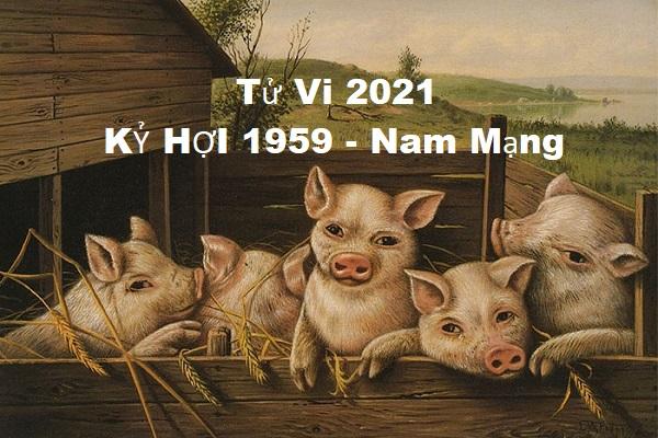 Xem tử vi năm 2021 tuổi KỶ HỢI sinh năm 1959 [Nam Mạng]