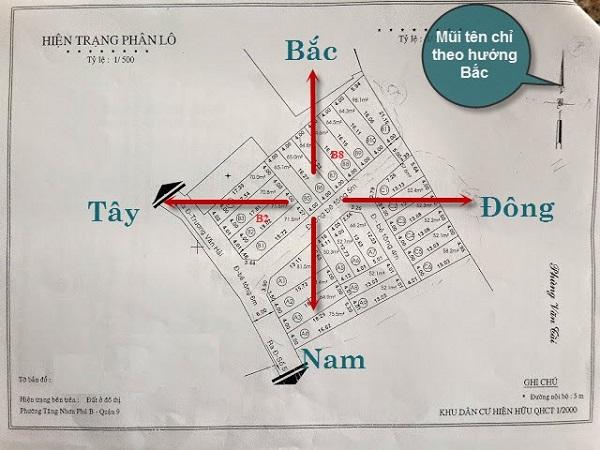 Cách xem hướng đất, hướng nhà trên sổ hồng chuẩn xác-3